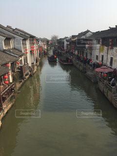 風景,建物,橋,屋外,船,川,観光