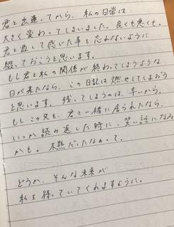 手書き,「手紙」,「手書き」,「文字」,「メッセージ」,「日本語」,「日記」