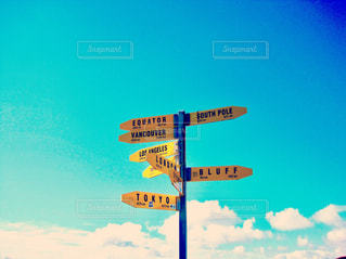 海,海外,看板,標識,旅,海外旅行,ニュージーランド,距離,ハミルトン