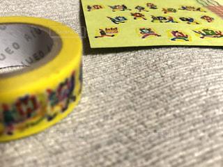 黄色,鮮やか,イエロー,カラー,色,黄,マステ,自宅,yellow,多彩,バースデーカード