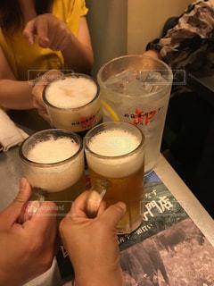 飲み物,イベント,グラス,ビール,乾杯,ドリンク,パーティー,手元,焼肉屋さん
