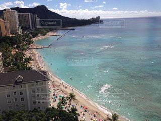 海,絶景,ビーチ,ハワイ,Hawaii,ワイキキビーチ,バルコニー,モアナサーフライダー