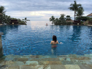 プール,景色,観光,海外旅行,バリ島