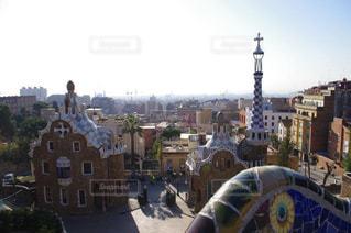 海,空,屋外,スペイン,地中海,グエル公園,卒業旅行