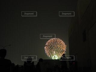 夏の尺玉花火の写真・画像素材[1876434]