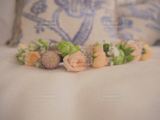 結婚式の花冠の写真・画像素材[2007840]