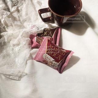 ピンク,レース,お菓子,チョコレート,紅茶,おうちカフェ,アーモンドロカ,ダークロカ,ロカピンク