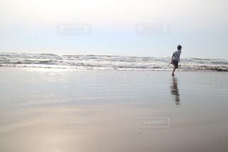春の海の写真・画像素材[1852861]
