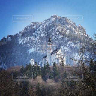 雪の城の写真・画像素材[1852729]