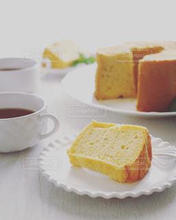 超絶しっとり米粉シフォンケーキの写真・画像素材[1862109]