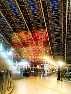 冬の駅の写真・画像素材[1875415]