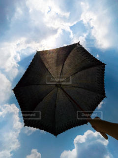 日傘の写真・画像素材[1866304]