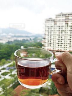 朝の紅茶の写真・画像素材[1866322]