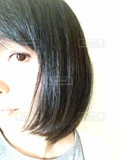 黒髪の女性の写真・画像素材[2286478]