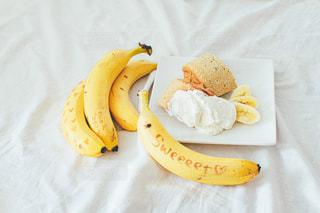 食べ物,ケーキ,デザート,テーブル,果物,おいしい,バナナ
