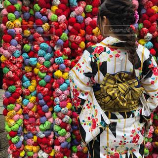 京都,チェック,着物,旅行,ヘアアレンジ,八坂庚申堂,フィッシュボーン