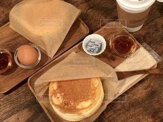 カフェで朝食の写真・画像素材[1863194]