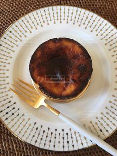 食べ物,デザート,ベージュ,ゴールド,フランフラン,クチポール,ミルクティー色,バスクチーズケーキ