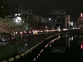 桜木町での夜の写真・画像素材[1877473]
