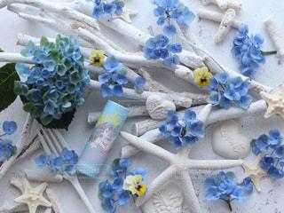 花,サンゴ,手作り,流木,アリエル,アンバサダー,練り香水,パフュームスティック,perfumestick,マジカルアジサイ,ビオラ