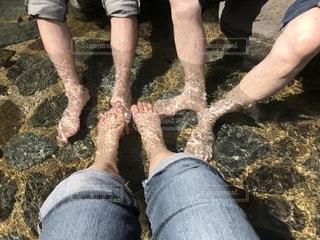 足湯の写真・画像素材[2073542]