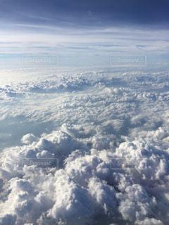自然,空,雲,飛行機,窓,高い