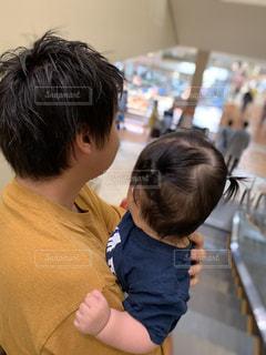 父と娘の休日の写真・画像素材[2366248]