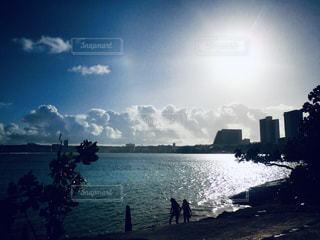 自然,風景,海,空,屋外,太陽,ビーチ,雲,水面,光,樹木,眺め,日中,クラウド