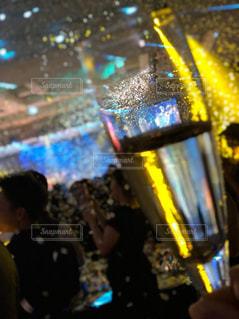 パーティーでシャンパンの写真・画像素材[1877665]