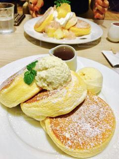 幸せのパンケーキの写真・画像素材[1982878]