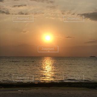 沖縄のサンセットの写真・画像素材[2014003]