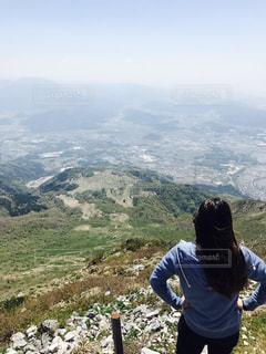 癒しの登山の写真・画像素材[2069070]