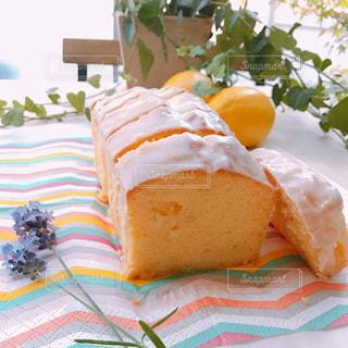 レモンケーキの写真・画像素材[3170389]