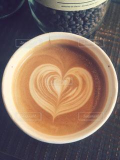 カフェ,コーヒー,ハート,カフェラテ,ラテアート,ラテ,ミルクティー色