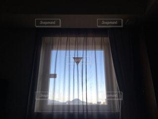 窓からの景色の写真・画像素材[2171429]