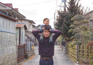 パパ大好きっ子の写真・画像素材[2178948]