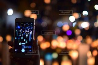 携帯電話のスクリーンショットの写真・画像素材[2283597]