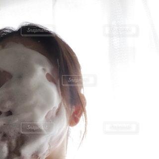 洗顔タイムの写真・画像素材[2336061]