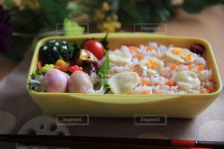 水玉弁当の写真・画像素材[2484222]