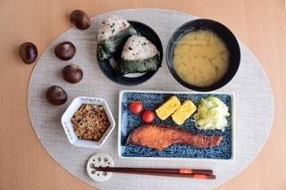 手作り朝定食の写真・画像素材[2513208]