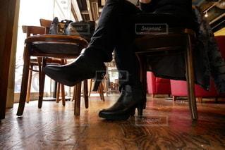 カフェでコーヒーの写真・画像素材[2714175]