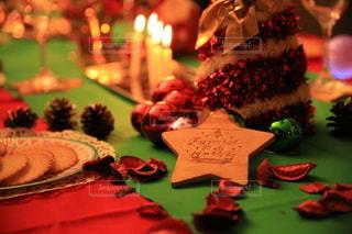 クリスマスパーティーの写真・画像素材[2735951]