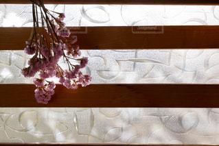 窓際のドライフラワーの写真・画像素材[2829952]