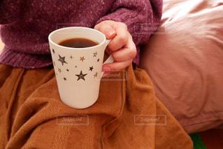 朝の一杯の写真・画像素材[2896808]