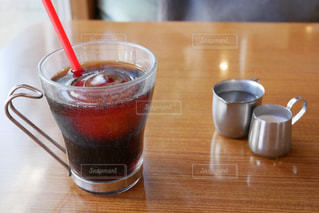 アイスコーヒーの写真・画像素材[2916734]