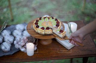 手作りケーキの写真・画像素材[2300822]