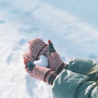 女性,アウトドア,スポーツ,雪,ハート,人物,手袋,ゲレンデ,レジャー