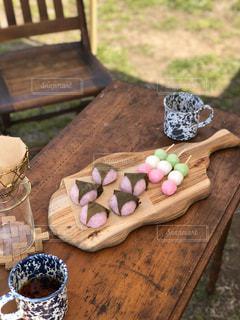 桜餅の写真・画像素材[2996494]