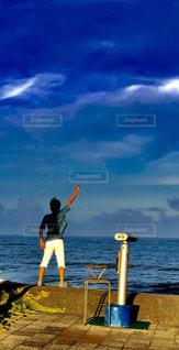 自然,風景,海,空,後ろ姿,海岸,旦那,40代