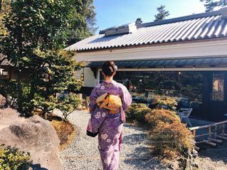 女性,20代,京都,後ろ姿,観光地,人物,背中,着物,人,旅行,美